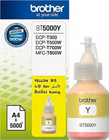 Ink BROTHER BT5000Y Yellow - 5.000 σελ.