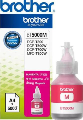 Ink BROTHER BT5000M Magenta - 5.000 σελ.