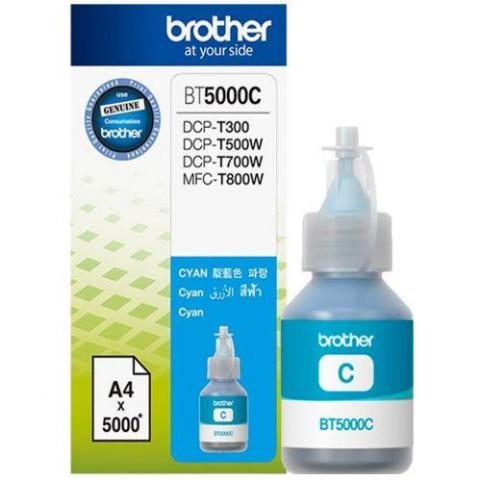 Ink BROTHER BT5000C Cyan - 5.000 σελ.